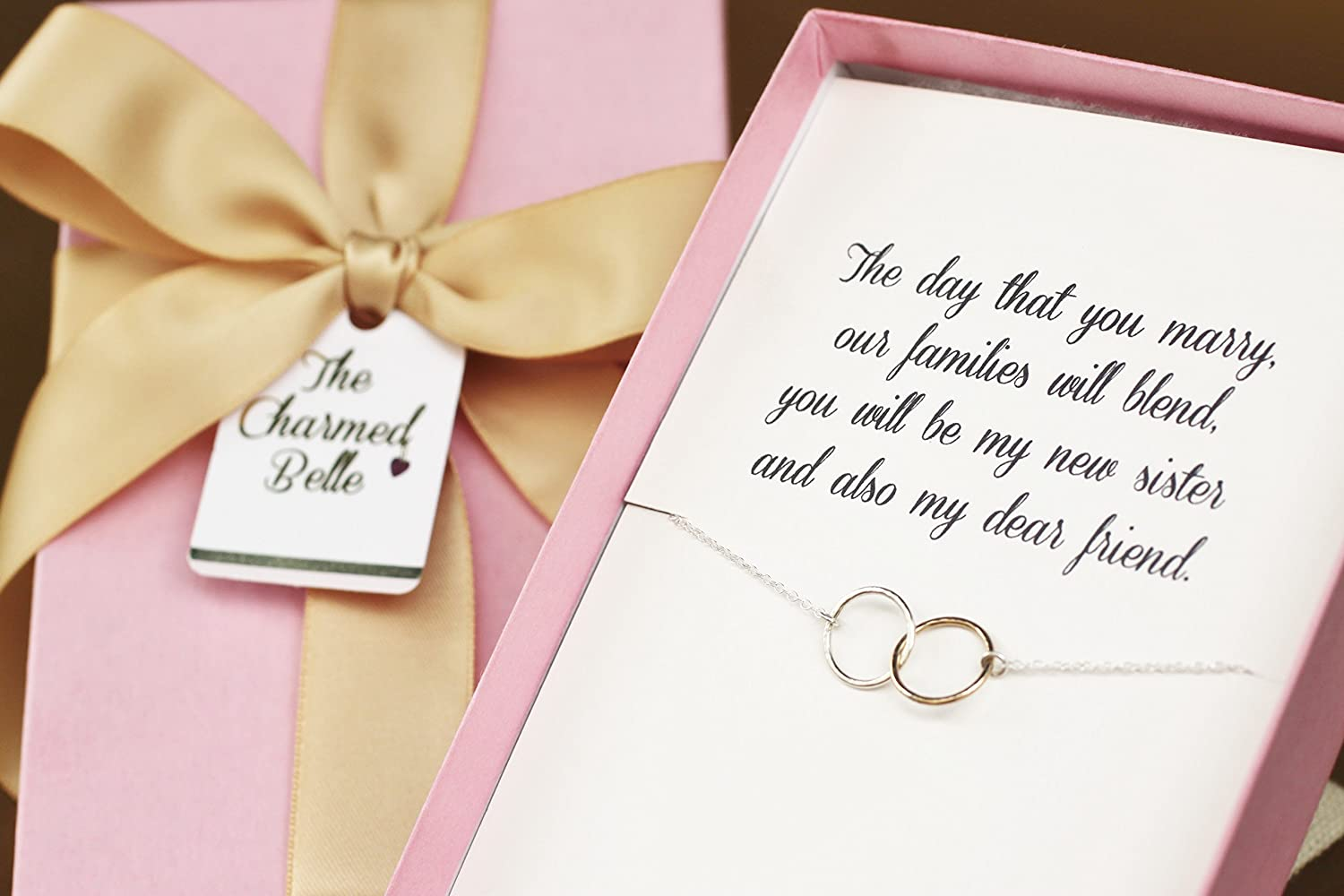 Amazon Com Necklace Sister In Law Wedding Gift Sister In Law
