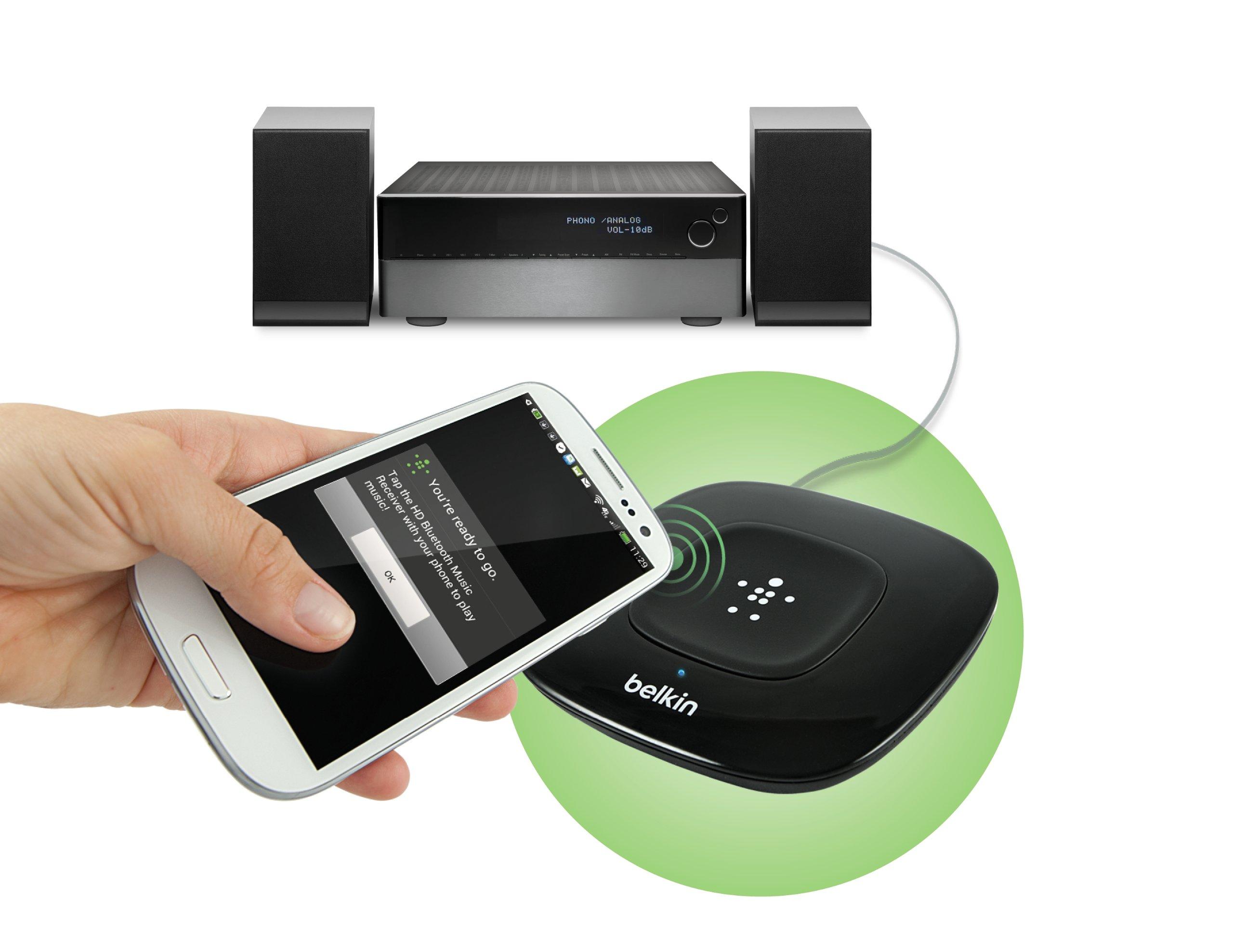 Belkin SongStream NFC-Enabled HD Bluetooth Wireless Music Receiver
