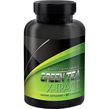 top selling Advanta Supplements Green Tea Extract with Maximum Potency EGCG for Increased Metabolism