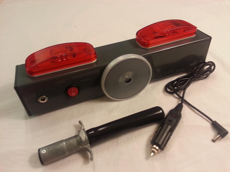 Towaide Wireless Tow Lights Gray