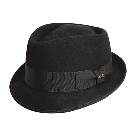 Dorfman Pacific Men s Wool Felt Diamond Crown Fedora at Amazon Men s ... 50ea6e60770