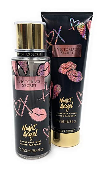d6d06d3cb7 Image Unavailable. Image not available for. Color  Victoria s Secret Night  Angel Fragrance Body Mist and Body Lotion Set