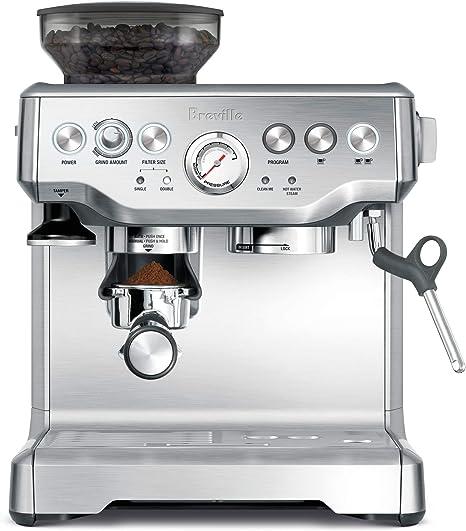 Breville BES870XL Máquina espresso - Cafetera (Máquina espresso ...