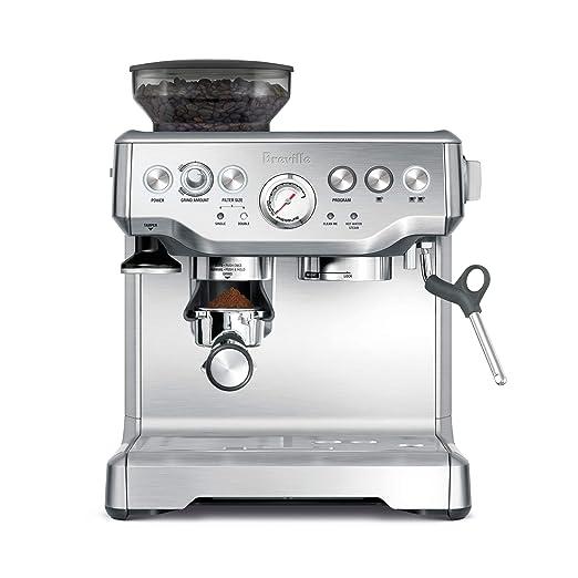 Breville BES870XL Máquina espresso - Cafetera (Máquina ...