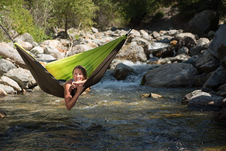 LA inkl. SIESTA - Colibri Camo River - Doppel-Reisehängematte inkl. LA Befestigung 0a4a87