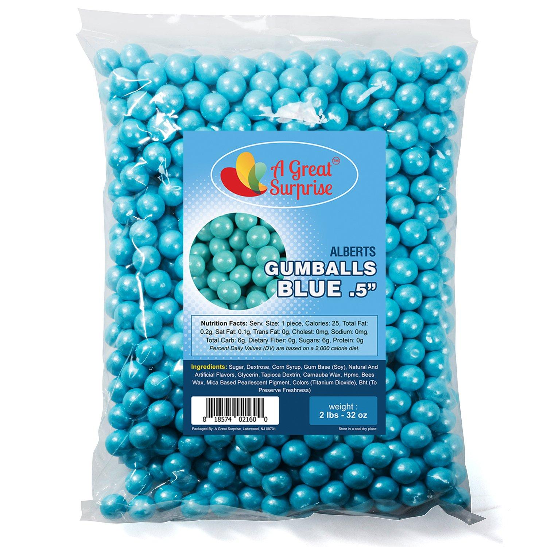amazon com gumballs in bulk light blue gumballs for candy buffet rh amazon com