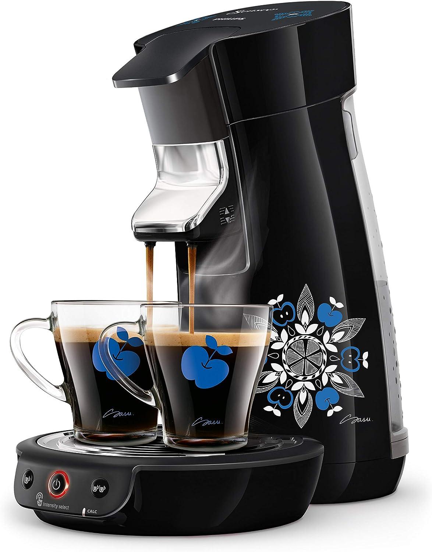Senseo Viva Café HD6569/62 - Cafetera (Independiente, Cafetera de filtro, 0,9 L, Dosis de café, 1450 W, Negro): Amazon.es: Hogar