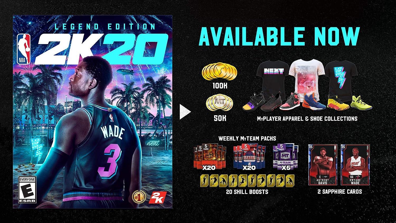 Amazon.com: NBA 2K20 Legend Edition - Nintendo Switch: Take ...