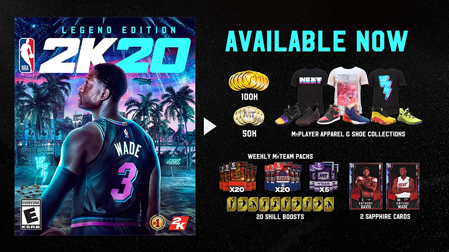 NBA 2K20 Legend Edition for Nintendo Switch [USA]: Amazon.es: Take ...