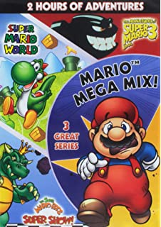 Amazon com: Super Mario Brothers: Mega Mario Mix: Mario, Super Mario