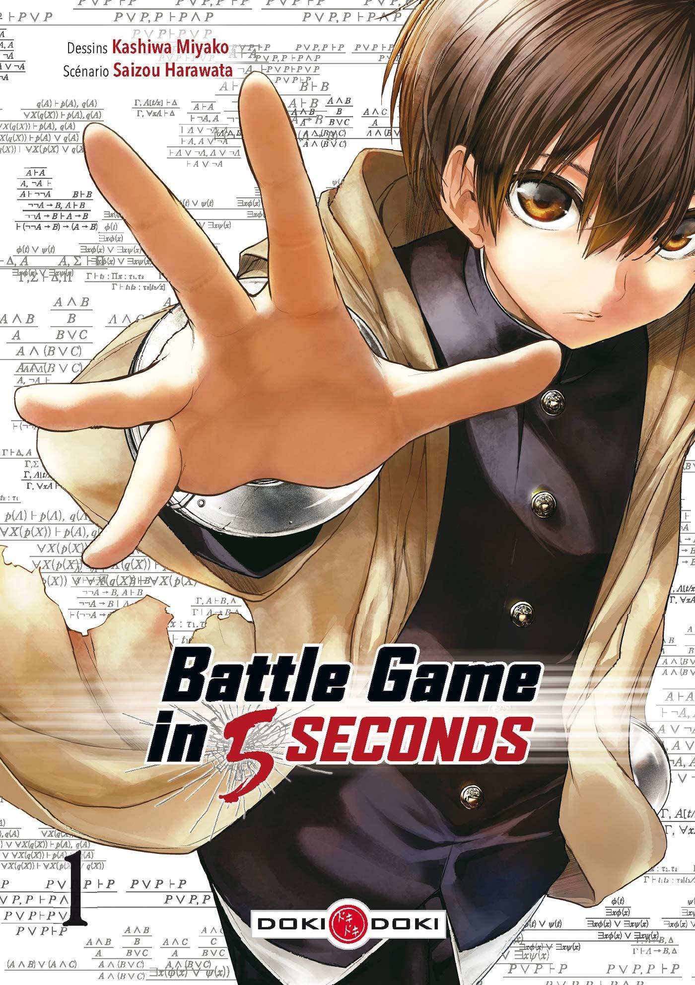 BATTLE GAME IN 5 SEC.T1: Kashiwa, Miyako, Harawata, Saizou: 9782818949702: Books - Amazon.ca