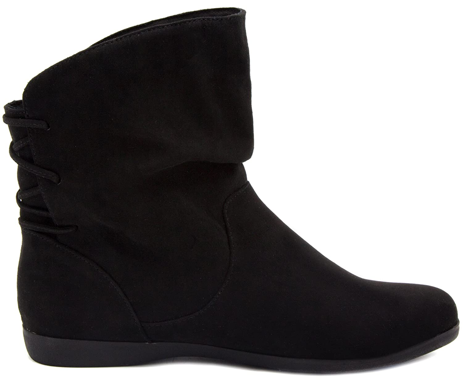 08c2adf635736 Sugar Women's Brooke Slouched Flat Ankle Boot Bootie