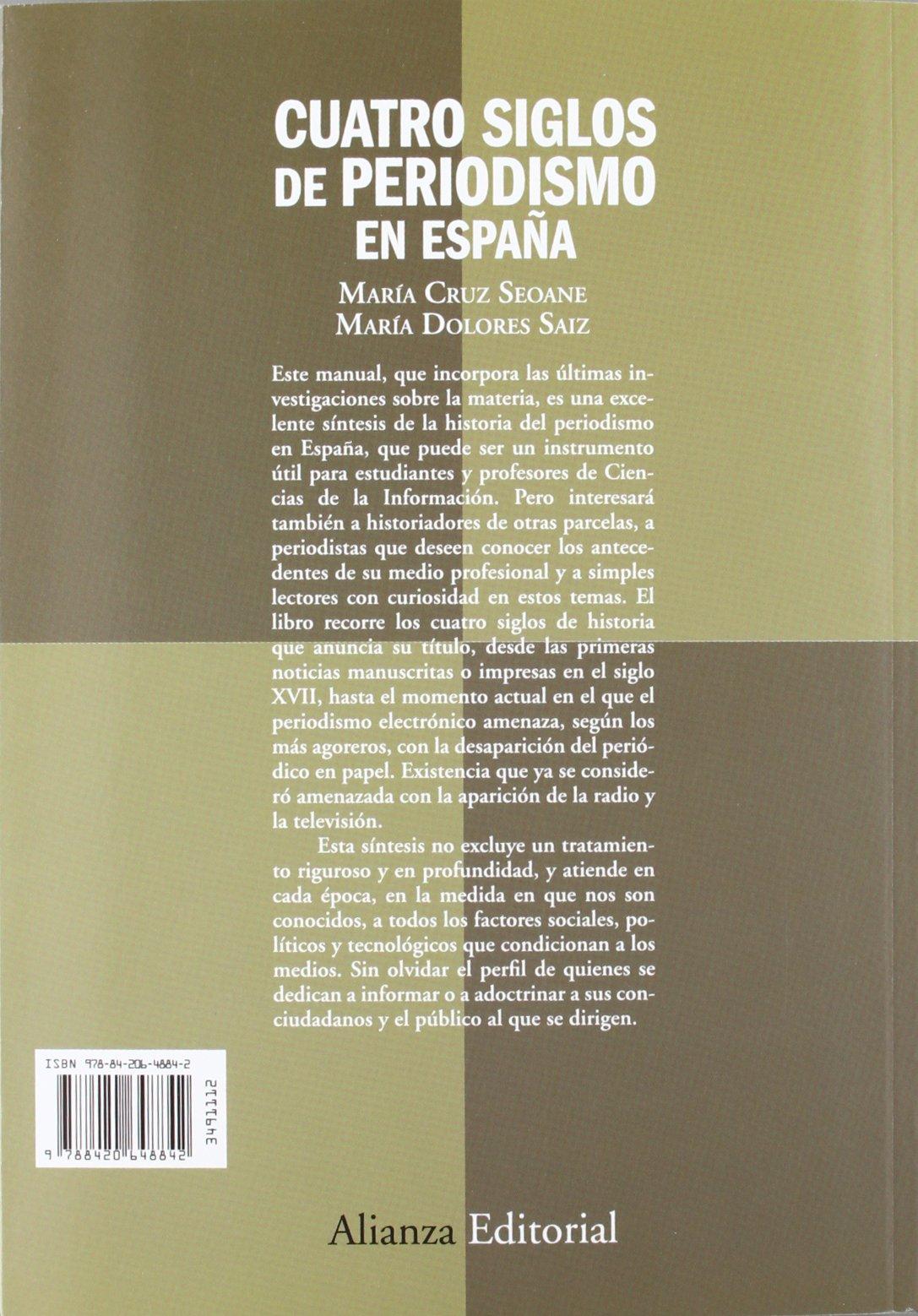Cuatro siglos del periodismo en España: De los