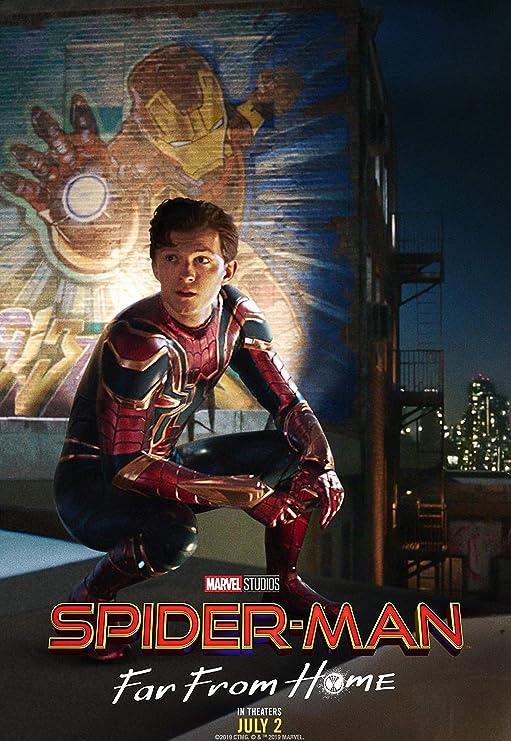 Iron Man Spider Man Homecoming Superhero Movie Poster Art Prints  12x18 24x36