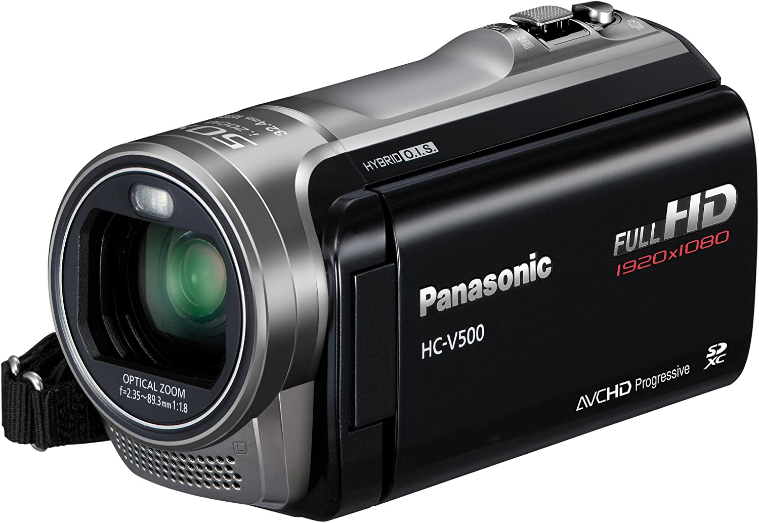 Panasonic HC-V500EG-K Full-HD-Camcorder
