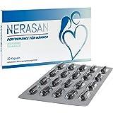 Nerasan - Potenciador Sexual Masculino Natural Para Hombre - Pastillas Para Ereccion Naturales de Azafrán