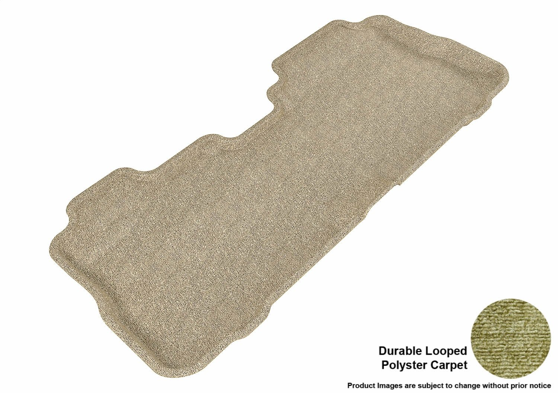 3D MAXpider Front Row Custom Fit All-Weather Floor Mat for Select Chevrolet Equinox//GMC Terrain Models Classic Carpet Gray