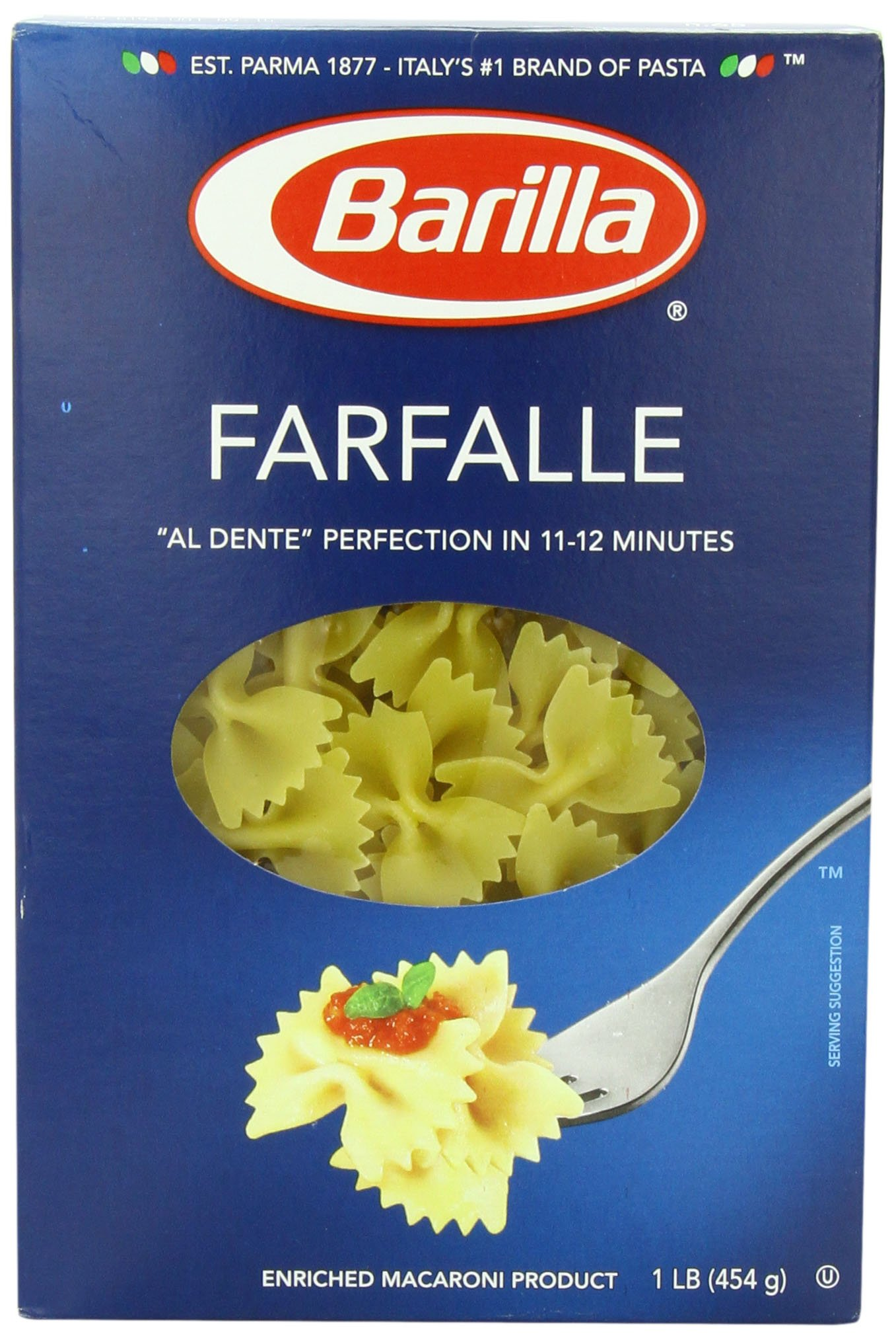 Barilla Pasta, Farfalle, 16 Ounce