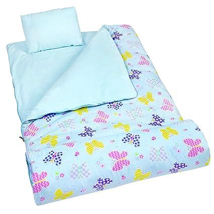Amazoncom Wildkin Original Sleeping Bag Features Matching Travel