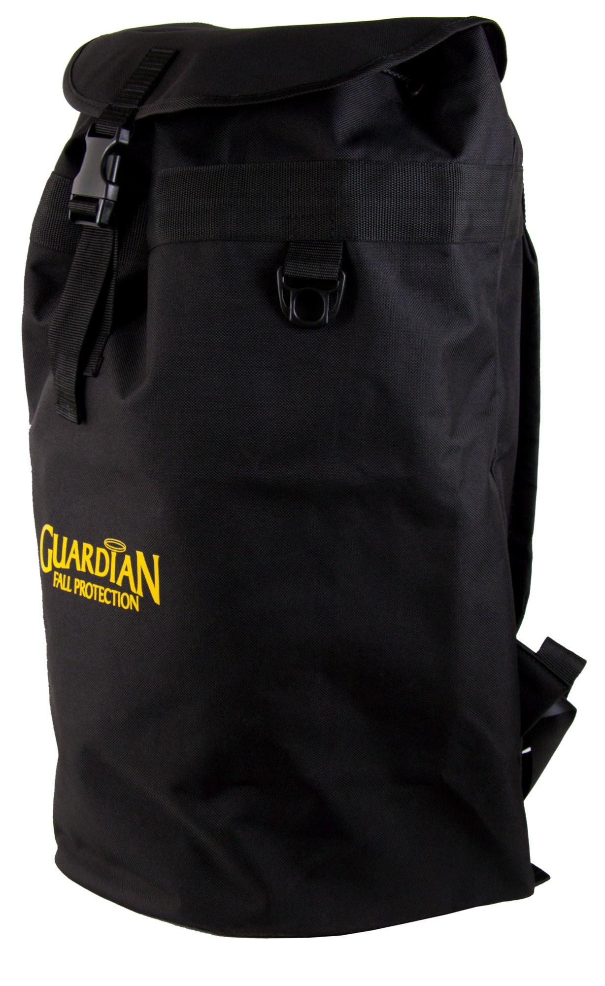 Guardian Fall Protection 00763 Ultra Sack Large Black Canvas Duffel Back Pack by Guardian Fall Protection