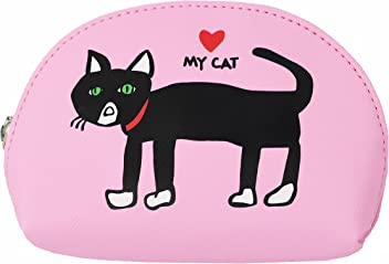 Marc Tetro Cat Mini Cosmetic Bag