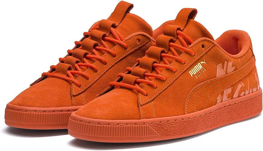 Basket Puma Suède Orange