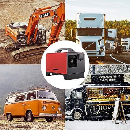 VEVOR 12 V 8KW Riscaldatore Diesel Riscaldatore Diesel per Camion Camper con Interruttore LCD e 1 presa daria