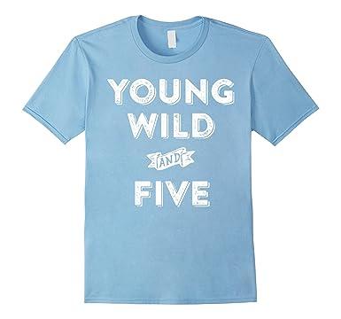 Mens 5th Birthday Shirt Boy