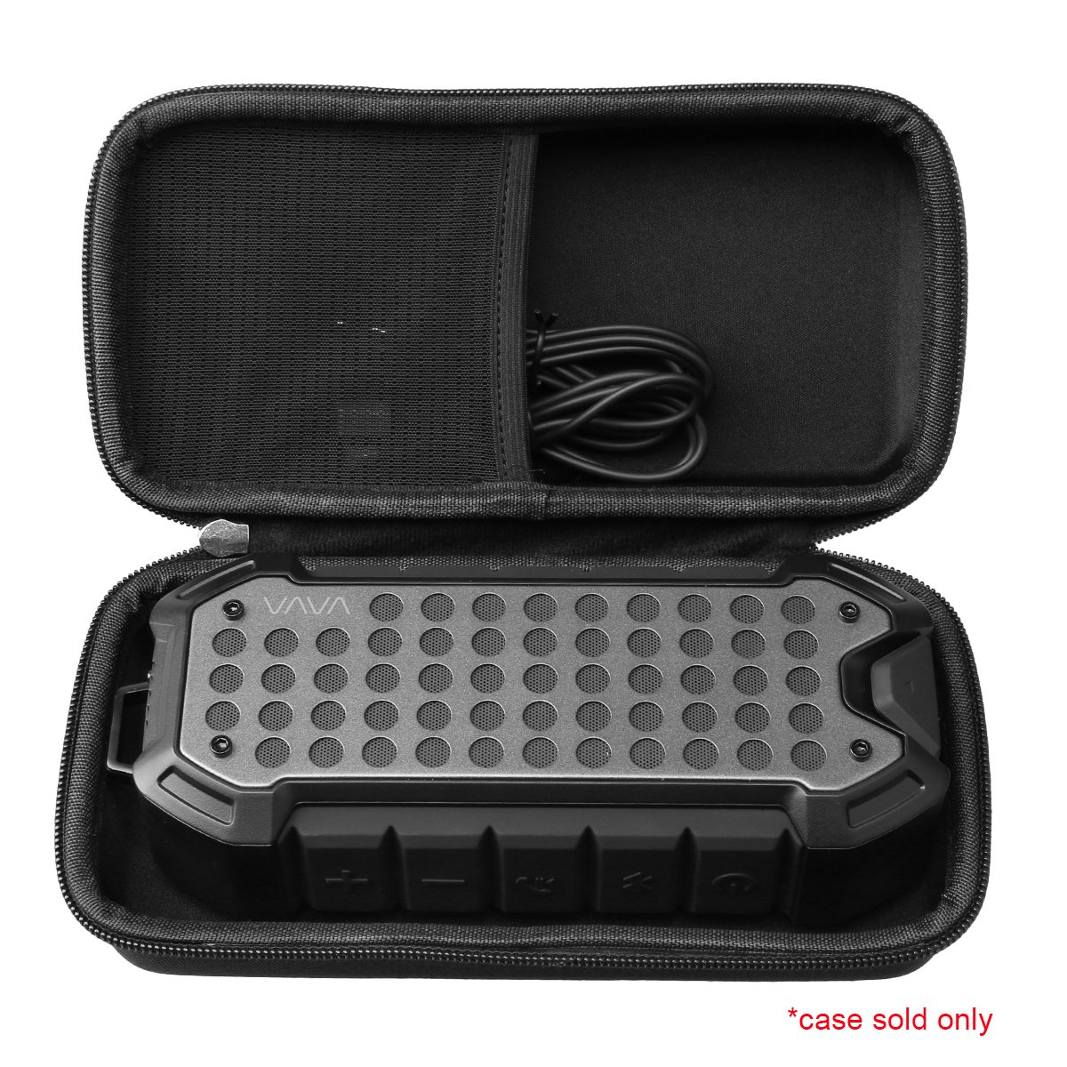 Hard Carrying Travel Case for VAVA Outdoor Rugged Wireless Bluetooth Portable Speakers by Aproca