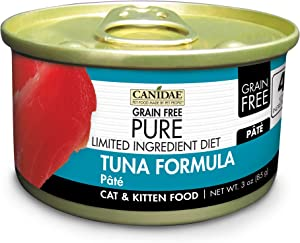 CANIDAE Grain Free PURE Limited Ingredient Diet Cat Wet Food