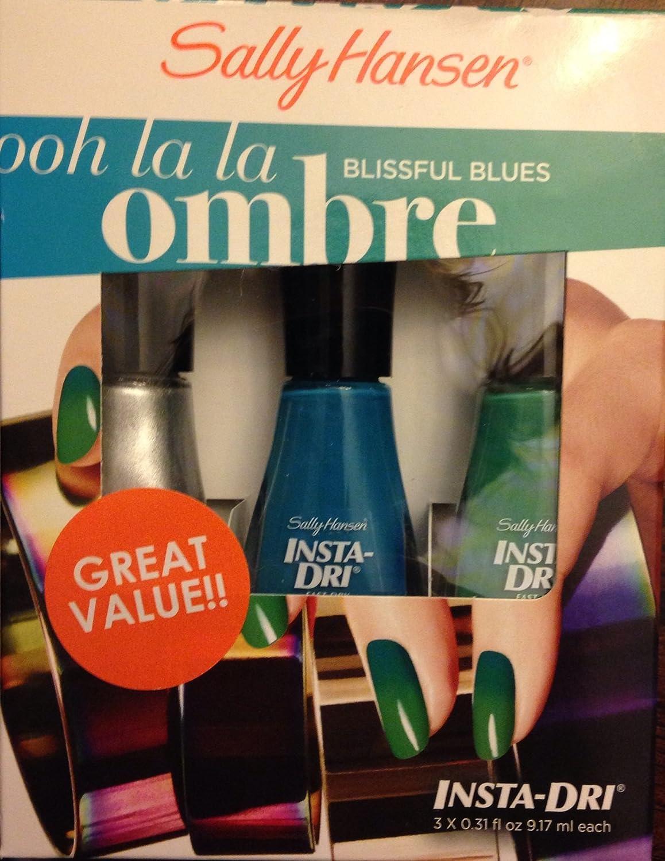 Amazon.com : Sally Hansen Ooh Lala Ombré Nail Polish Kit Blissful ...