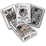 Bicycle American Flag Poker Size Standard Index Playing Cards