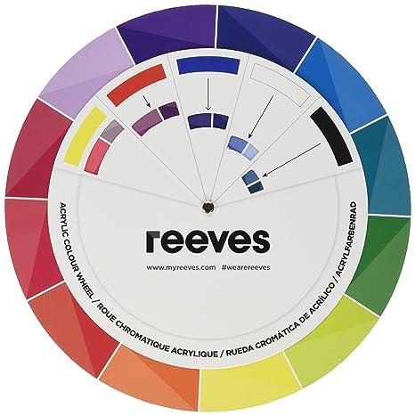 Reeves Cercle Chromatique Acrylique Amazonfr Cuisine Maison