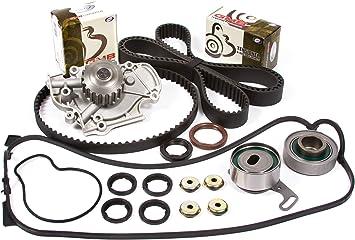Timing Belt Kit Water Pump Fit Kit Valve Cover 90-97 Honda Accord 2.2 F22A F22B2