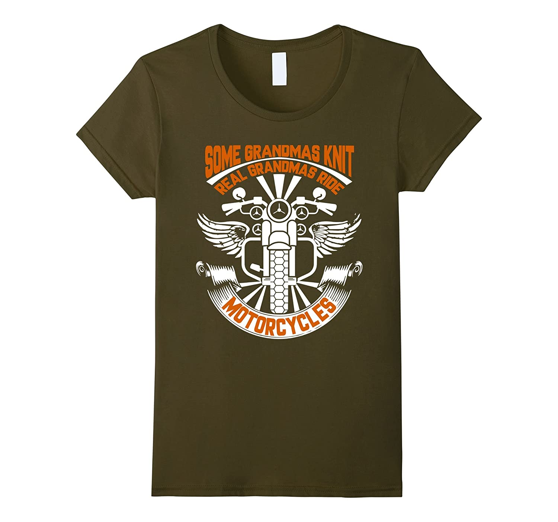 Womens Grandmas Motorcycles Shirt Medium-Teechatpro