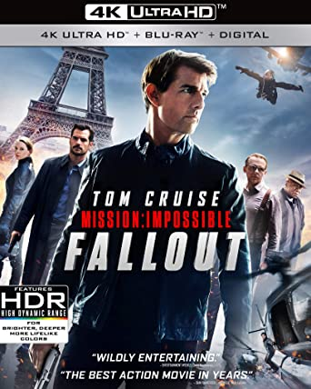 Mission Impossible Fallout (2018) BluRay 480p 450MB Org [Hindi – English] MKV