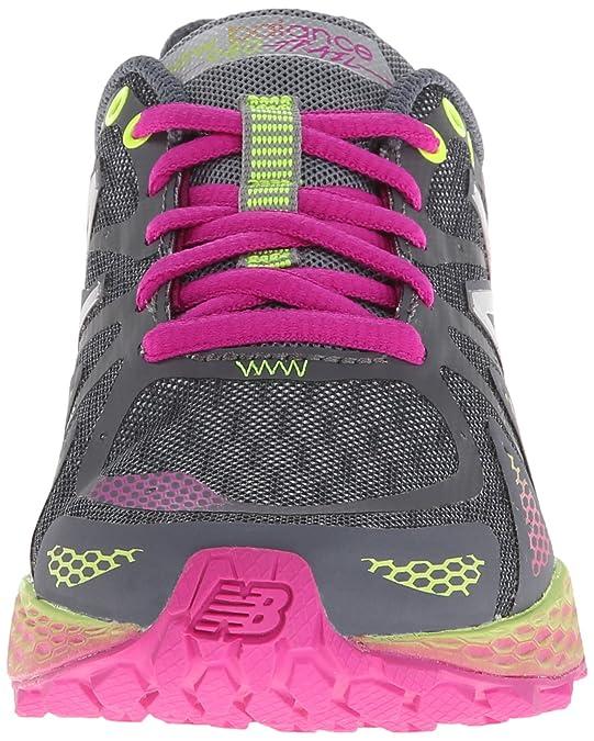 New Balance Trail Running Maschenweite Laufschuh, Grey/Purple/Lime Green,  40 EU: Amazon.de: Schuhe & Handtaschen