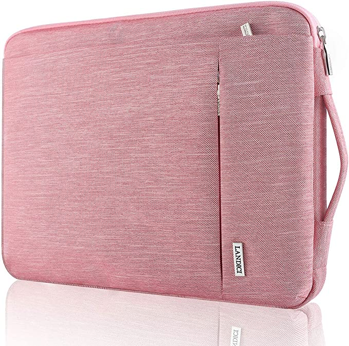 INTERESTPRINT Laptop Protective Sleeve Waterproof Case Bag Lucky Clover Good Luck Carrying Case Cover 15.4 Inch 15.6 Inch