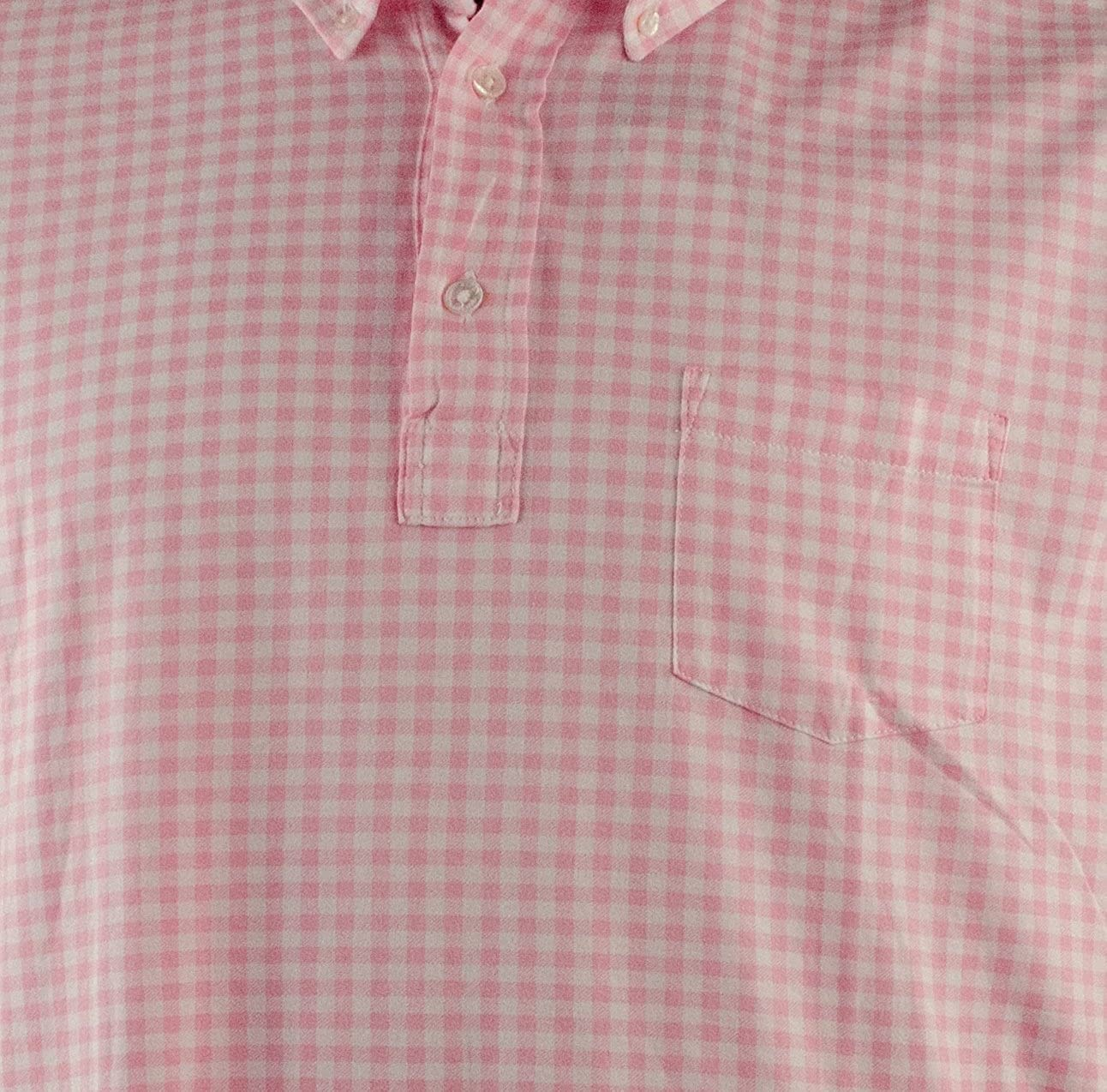 Polo Ralph Lauren Mens Luxury Gingham Jersey Polo Shirt