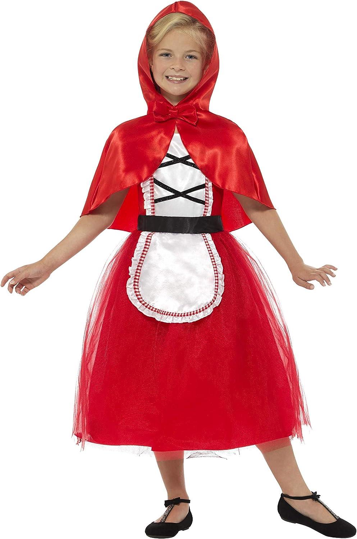 Smiffys Smiffys-22496L Disfraz Deluxe de Caperucita Roja, con ...