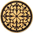 XL Coasters Wrought Iron (6 Inch, Set of 2) Drink coasters that absorb water