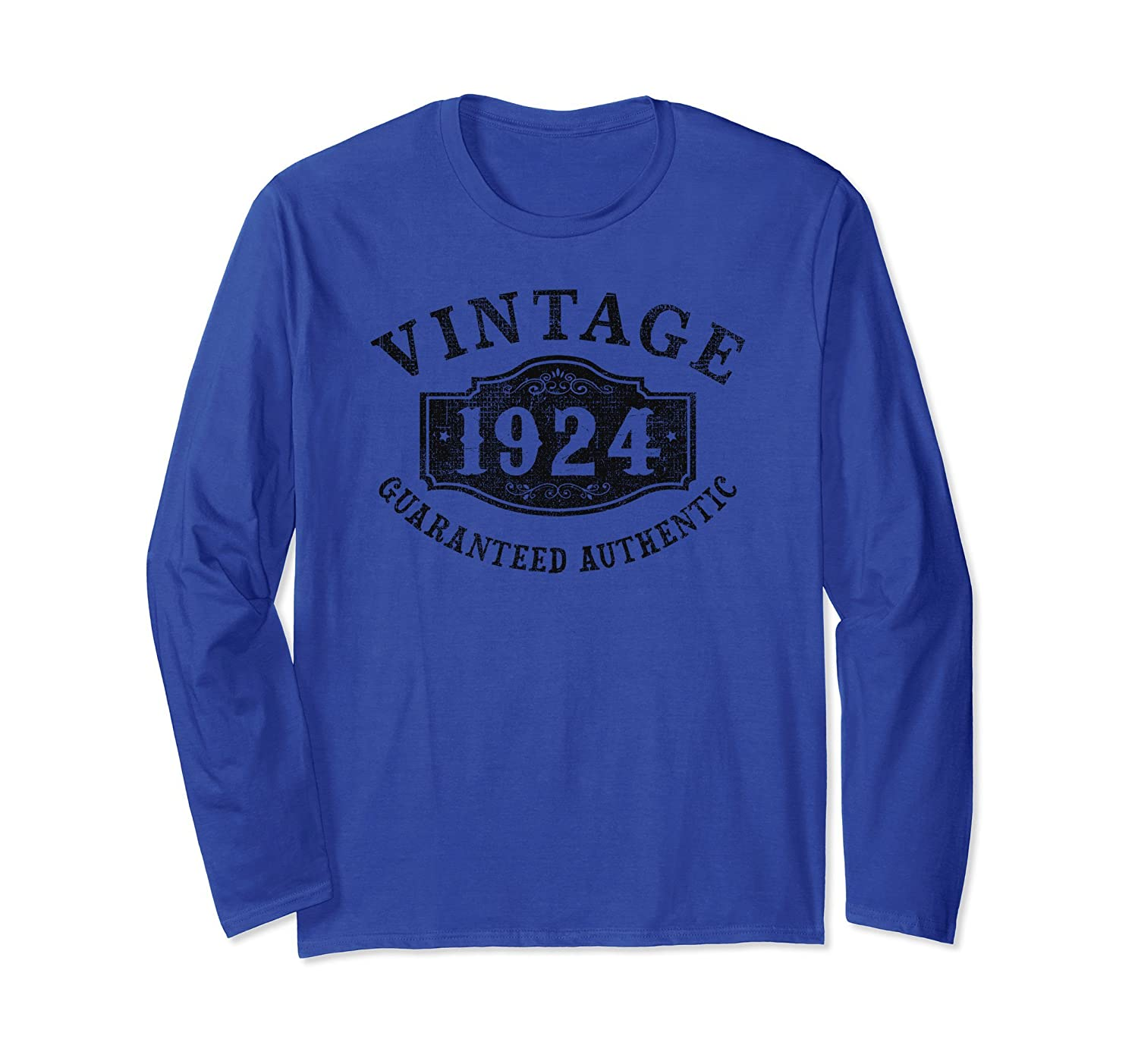 94 years old 1924 Authentic 94th B-day Birthday Gift Shirt-fa