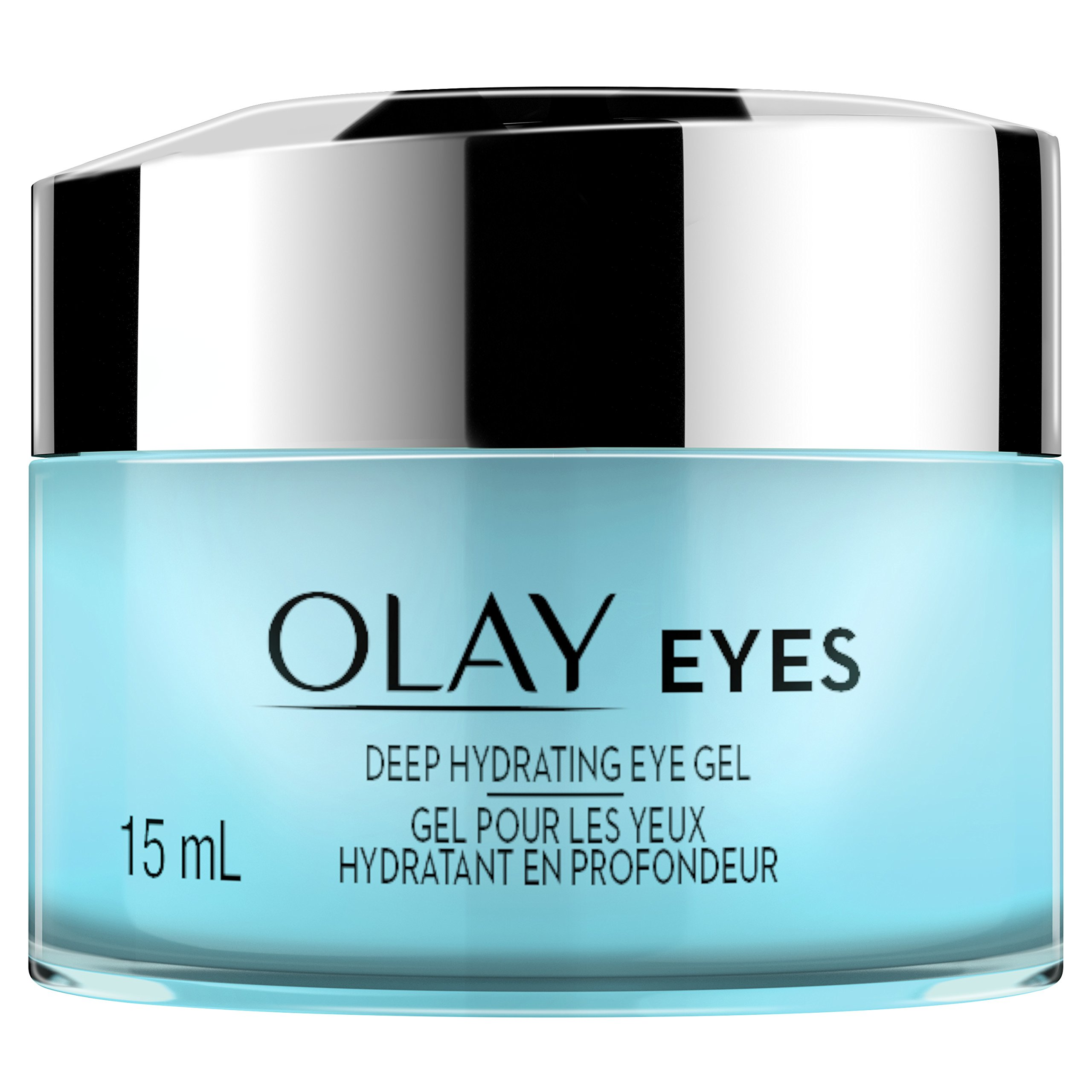 Eye Cream by Olay, Deep Hydrating Eye Gel with Hyaluronic Acid, 0.5 fl oz