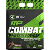 MusclePharm Combat Protein Powder, 5 Protein Blend, Chocolate Milk, 10 Pounds, 129 Servings