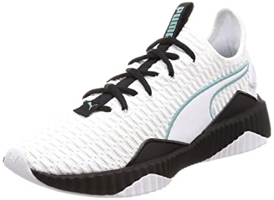 50f45dfeb26da Amazon.com | PUMA Defy Womens Fashion Trainers in White Black - 9.5 ...