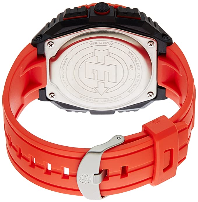 Amazon.com: Timex Mens T499849J Expedition Digital Display Quartz Red Watch: Timex: Watches