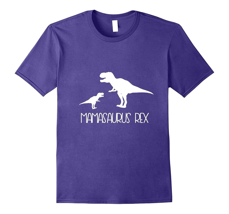 Mamasaurus Shirt with Baby Rex Tshirt-BN