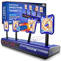 Uwantme Electronic Shooting Target for Nerf Guns w/4 Target Deals