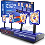UWANTME Electronic Shooting Target Scoring Auto Reset Digital Targets for Nerf Guns Toys, Ideal Gift Toy for Kids, Teens, Boys & Girls (2019 Version)