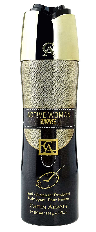 Amazoncom New Hot Active Woman Noire 200ml Deodorant Pour Femme
